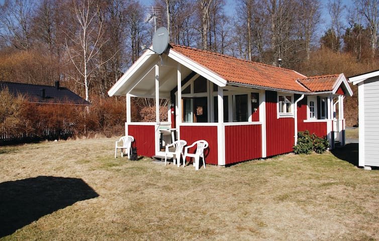 Holiday cottage with 2 bedrooms on 37m² in Karlshamn
