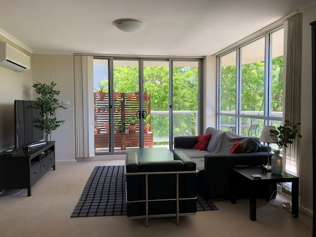 Master Bedroom in Canberra's city centre