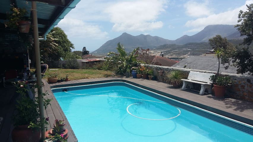 Mountainview with friendly hosts - Kaapstad - Appartement
