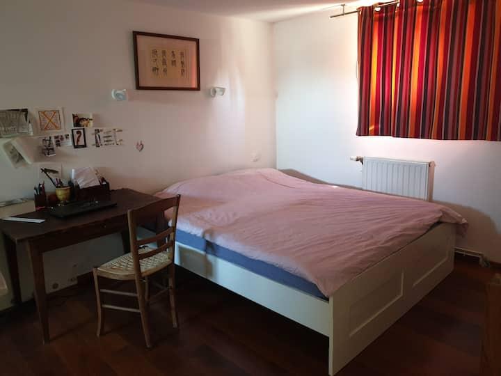 Suite 1 lit dble + lits enfant aux portes d'Angers