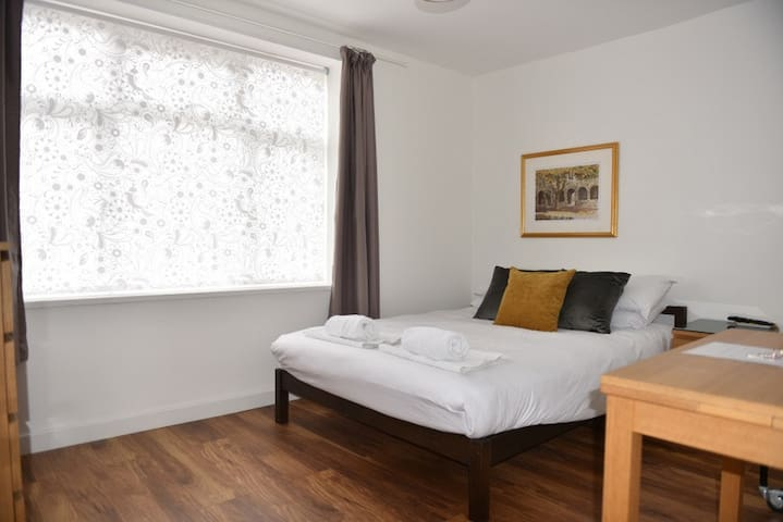 Sunny Spacious Double Room with Private Bathroom!