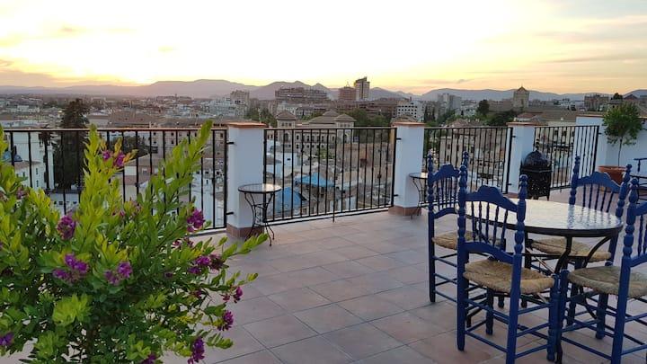 Apartamento Jardín 4P - Mirador del Zenete Granada