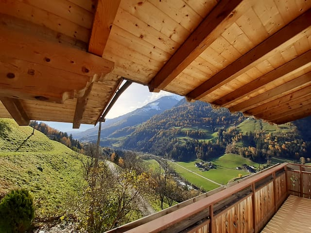 Cosy Strickerhof Apartment 1 with Mountain View & Balcony; Parking Available, Pets Allowed