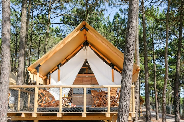 Glamping Luxury Family+