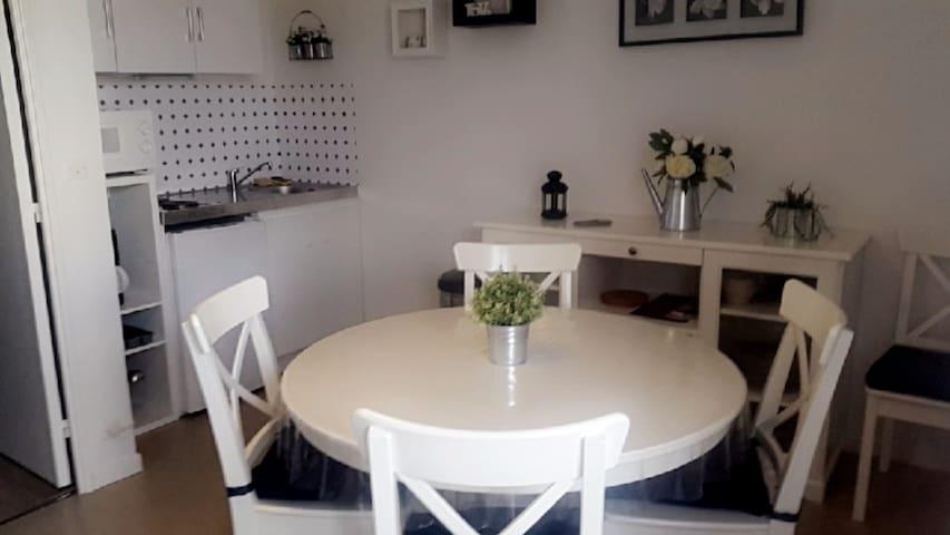 Magnifique appartement 26m2 à 5min de Cabourg