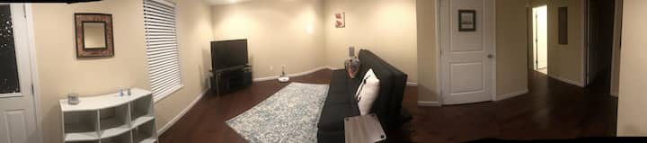 Private full one bedroom basement w/ own entry!