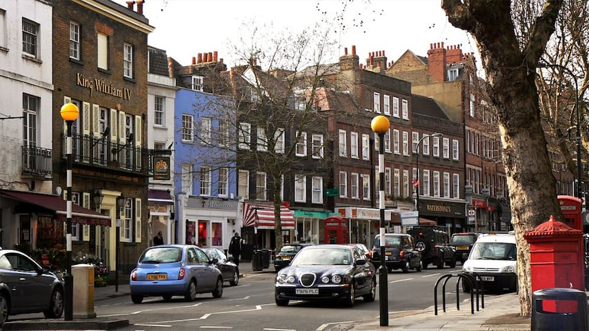 Studio flat in Hampstead Village