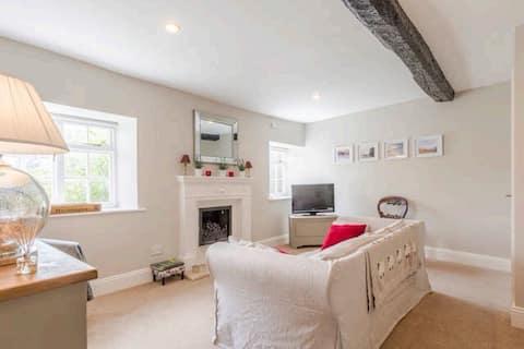 Large two bedroom, split level apartment