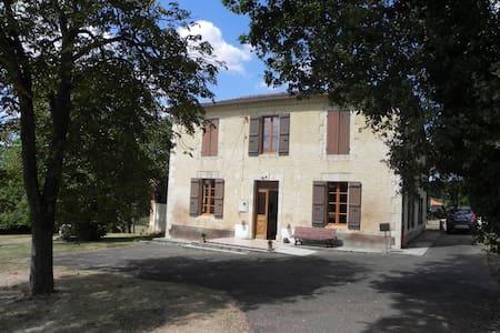 Maison de caractère au calme dans le Gers - Préneron - Huis