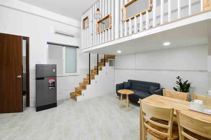 1-Airy Apartment- Nearby E.TOWN, Airport 8mins