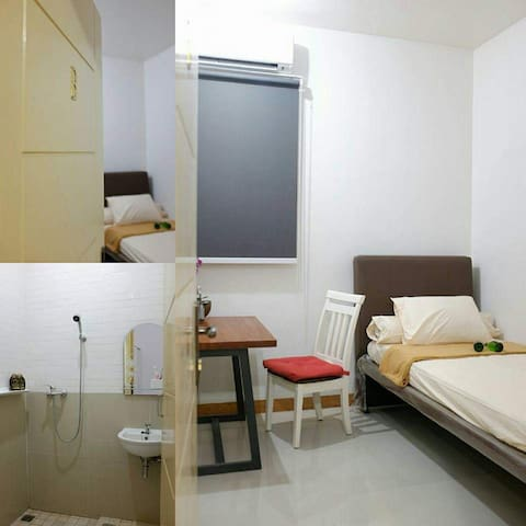 Clean and affordable price rooms, single traveler