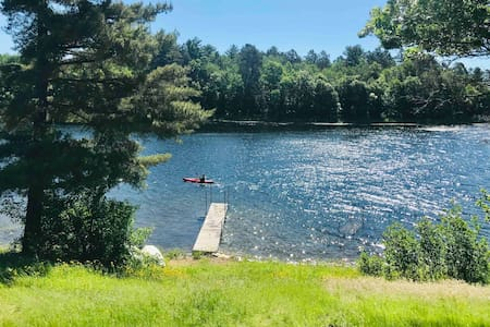 Cabin on Little Lake Emily & Atv trails!