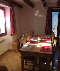 St jean de Maurienne le chatel - Le Châtel - บ้าน