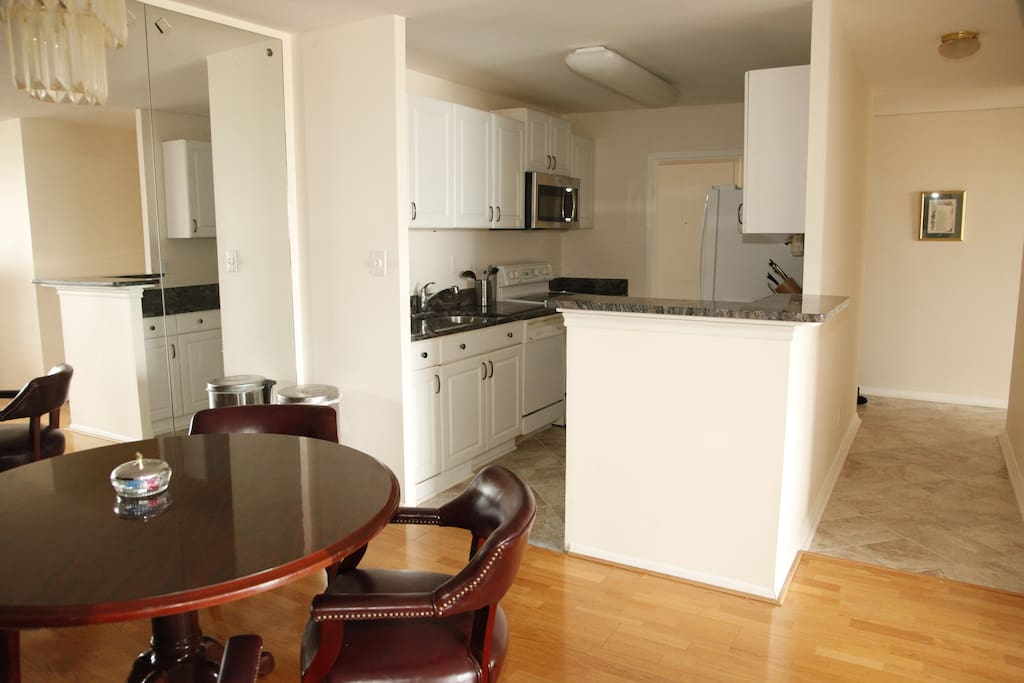 Recently remodeled kitchen with all necessities.