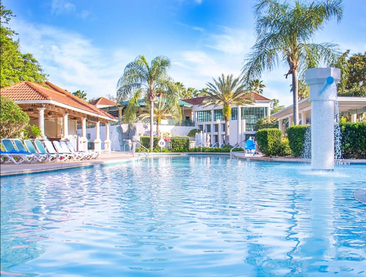 Resort Vacation Near Disney - POOL family friendly