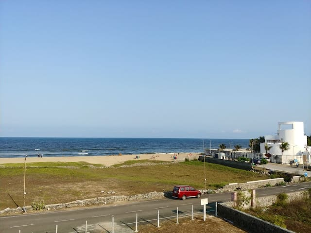 Picture shared by one of our guests- view from the terrace