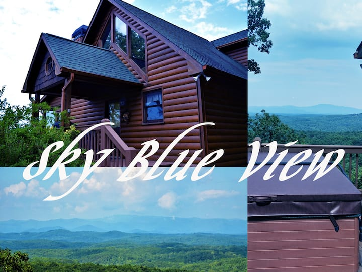 ❤️Sky Blue View - A Blue Ridge Area Cabin