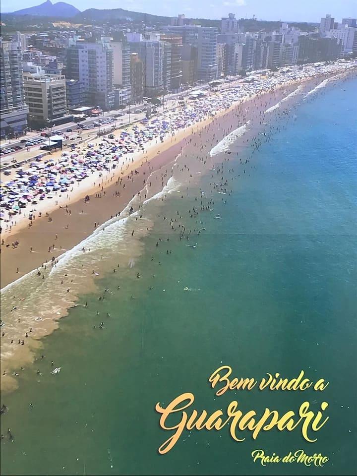 Apartamento Completo na Praia do Morro - 2º Andar