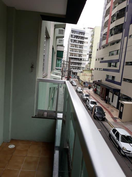 Sacada vista para a av. Brasil
