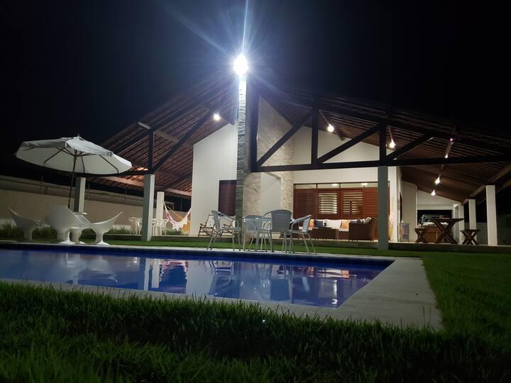 Casa beira-mar em Camaçari,  Lucena