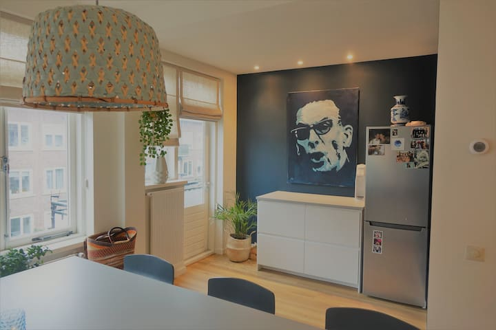 Spacious renovated apartment in Blijdorp