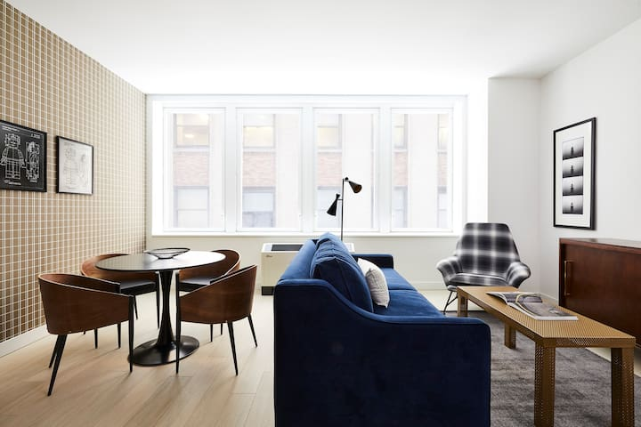 Sonder | Wall Street | Central 2BR + Lounge