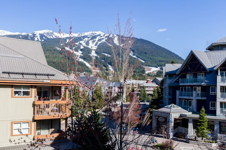 LARGE STUDIO DOWNTOWN WHISTLER SLEEPS 4