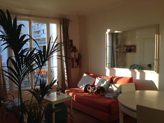 Grande Chambre lumineuse, Paris 14e - Paris - Wohnung