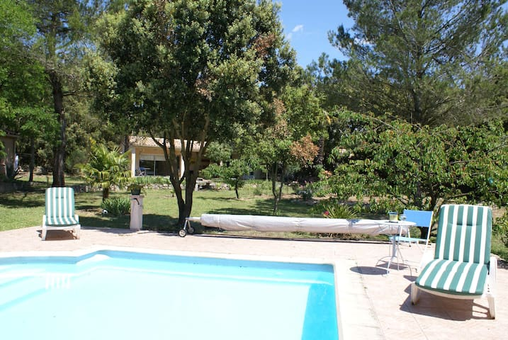Près Carcassonne calme avec piscine - Ventenac-Cabardès - Appartement