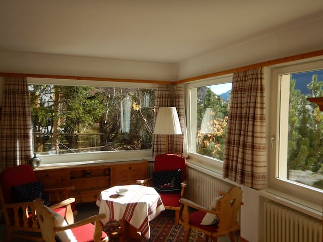 Vacations in the swiss alps - Pontresina - Apartment