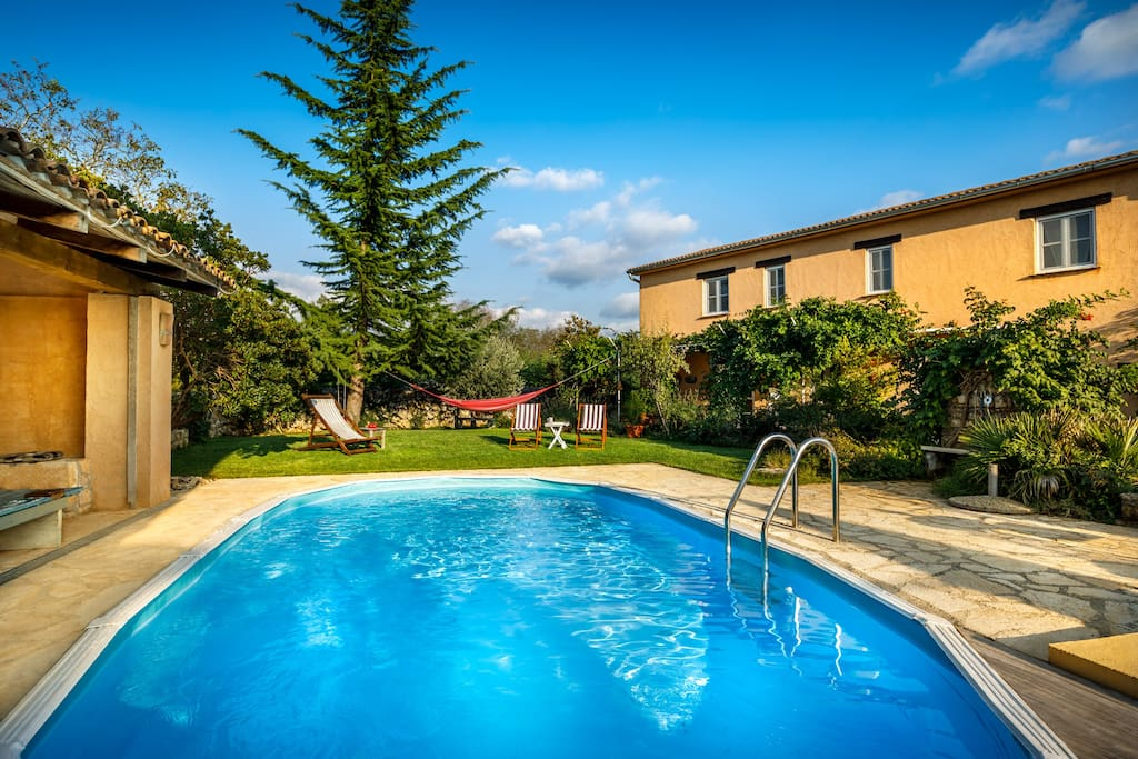 Secluded Villa With Swimming Pool Lovely Garden Villas For Rent In Pore Istria County Croatia