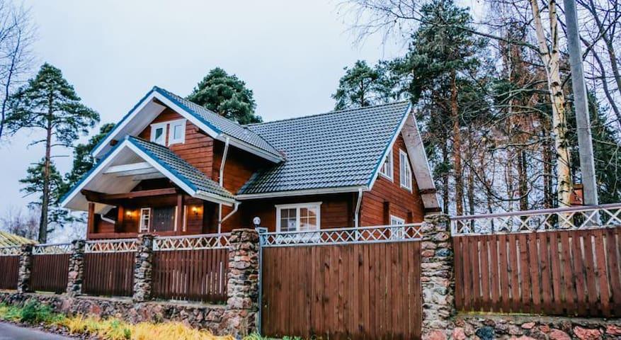 Коттедж_Выборг - Vyborg - Rumah