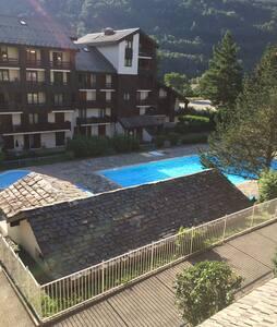 F2 de 25M2 avec piscine commune - Bourg-Saint-Maurice
