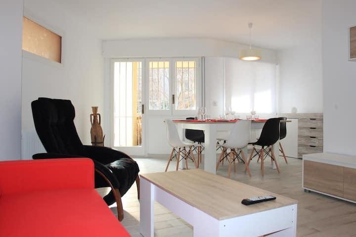 V3 Bonito apartamento a 600 metros del museo Dalí