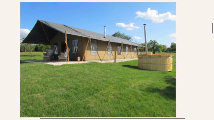 Luxury Glamping Farm Stay @ Pear Trees Safari Tent