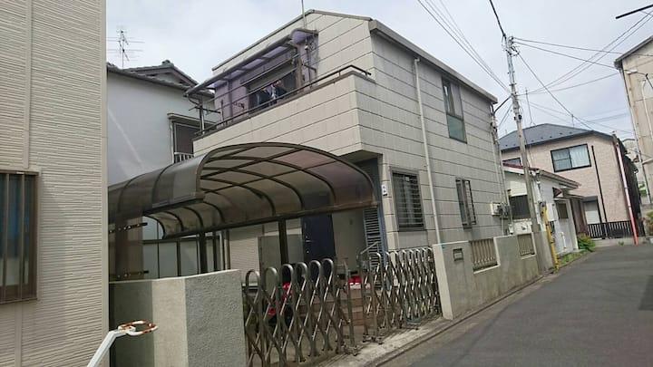東京23区内で駐車場付きの珍しい物件! 船堀駅徒歩5分の一軒家貸し切り! 下町観光に最適です