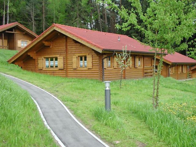 schönes Blockhaus am Waldrand im Naturerlebnispark - Stamsried - Ev