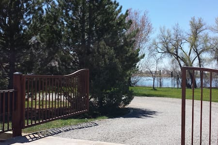Idyllic Country Lake Guest House Central Location! - Mead - Casa