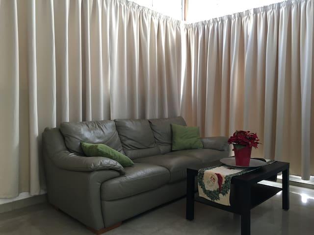 Acogedor, céntrico y confortable espacio.