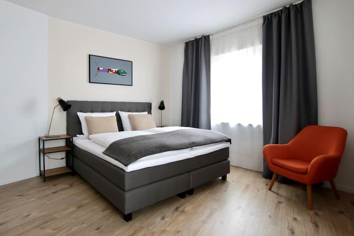 Bis-4433 · Stillvolles Apartment im Belgischen Viertel