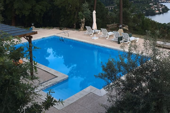 New for 2018 - shaded area by the pool