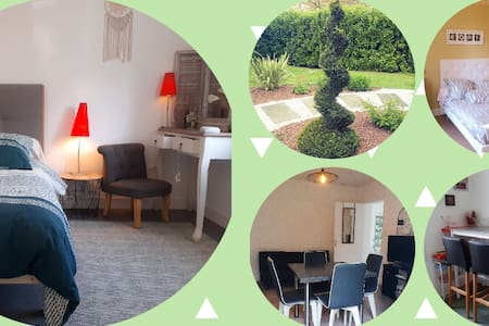 ● Appartement / 2 chambres / parking / wifi / parc