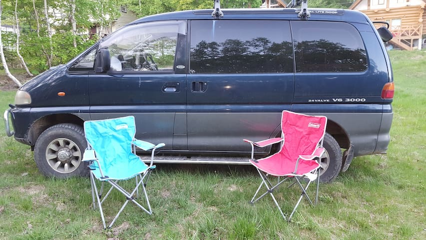4WD Camping van with ski rack from Sapporo,Niseko - Sapporo-shi - Autocaravana