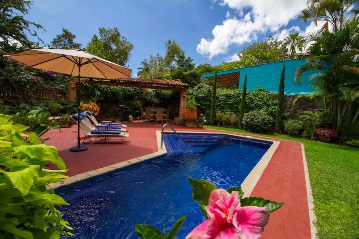 Beautiful Ajijic Villa overlooking Lake Chapala