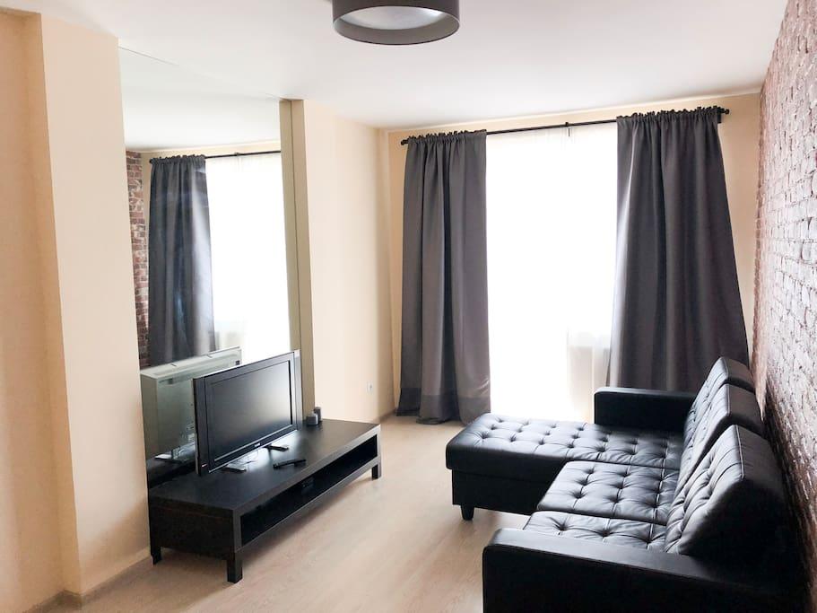 Удобный и современный диван-кровать