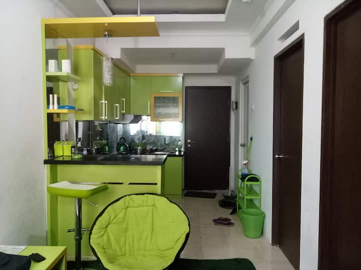 Cheap Appartment in Bandung @The Suites (2 BR)