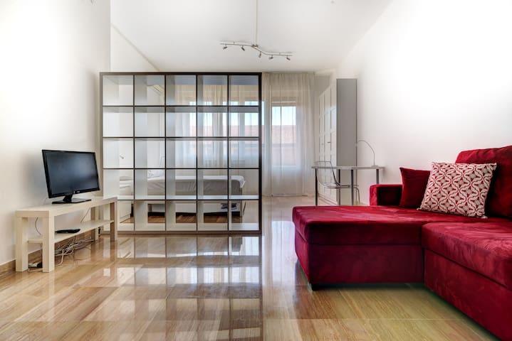 Gaudenzi- spacious apartment, excellent location