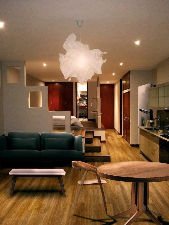 Exclusivo y moderno LOFT Calle  106 zona exclusiva