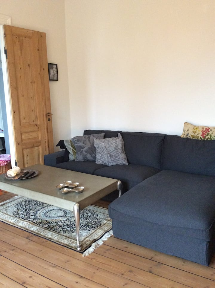 Nice 3 room apartment in Hellerup close to station