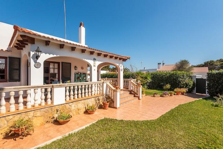 Villa Bon Sol- 500m to the beach- Menorca